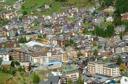 Überbauung im Berggebiet/ Quelle: Martin Vinzens, ARE