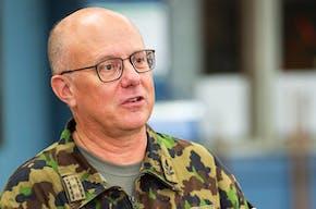 Philippe Rebord, chef de l'armée