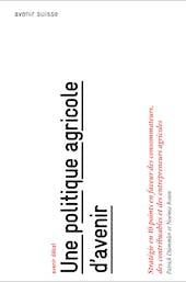 Une politique d'avenir, couverture publication