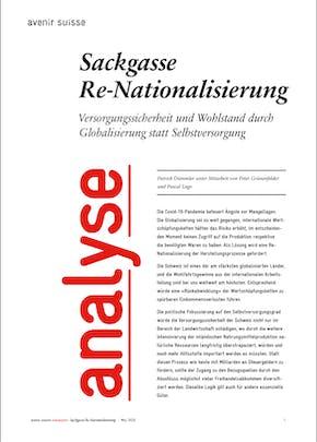 Sackgasse Re-Nationalisierung